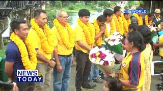 Kanchanaburi Tourism Association welcomes home volunteer divers