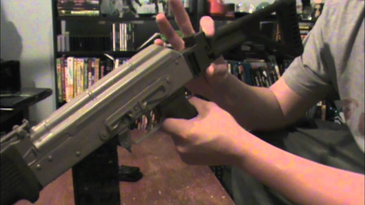 AK-47 AK-74 TAPCO SIDE FOLDING STOCK REVIEW ON A ROMANIAN WASR 10