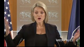 Heather Nauert Gets Pissed at Reporters Grilling Her About Jerusalem