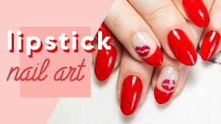ipsy Nailed It | Lipstick Week Inspired Nail Art
