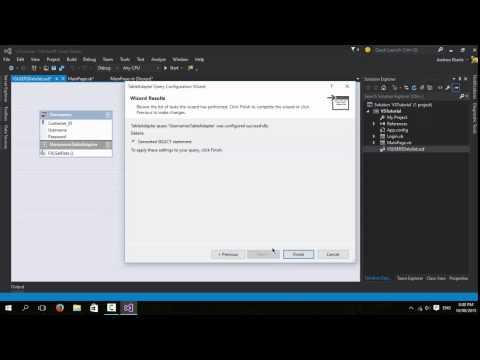 Visual Studio 2012 - 2015 Microsoft Access Login VB.NET