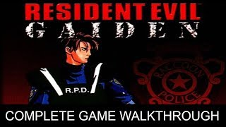 Resident Evil Gaiden Complete Game Walkthrough Full Game Story Gameboy Color