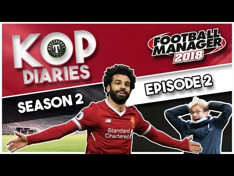 FM18 - Kop Diaries Red Pharaoh Scores 18 in 3 Football Manager 2018