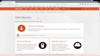 Télécharger une ISO linux (Ubuntu/Debian)