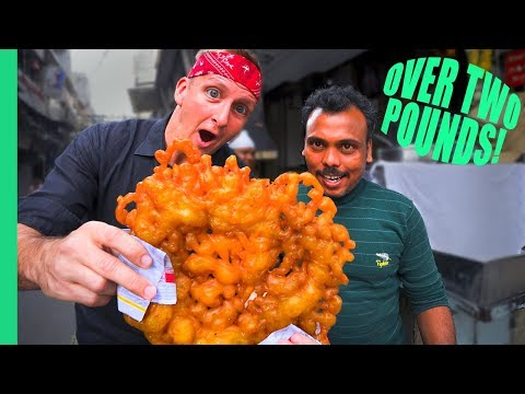 RECORD BREAKING JALEBI! You won't believe how much it cost...