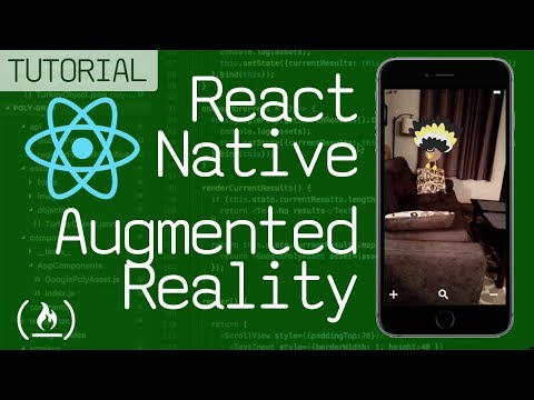 React Native Tutorial - Augmented Reality Mobile App