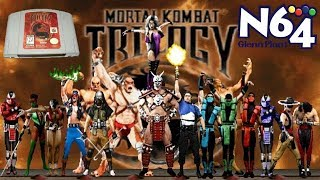 Video 🔴DESAFIO - A TORRE SUPREMA DO MORTAL KOMBAT - TRILOGY N64 sera que consigo? download MP3, 3GP, MP4, WEBM, AVI, FLV September 2018