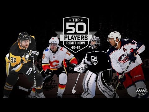NHL Network  Top 50 Players Right Now 40 - 31   Sep 9,  2018