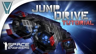 How To Make A Jump Drive [space Engineers]