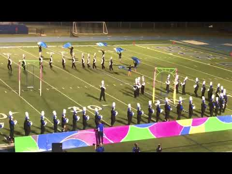 Full Swing under a beautiful full moon at Mooresville NC High School 2017
