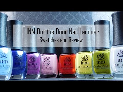 Inm Out The Door Nail Lacquer Swatches