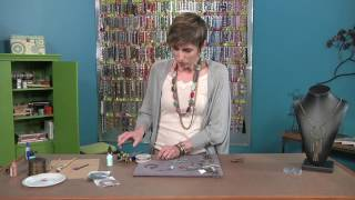 Candie Cooper transforms leather into contemporary jewelry designs (2504-1)