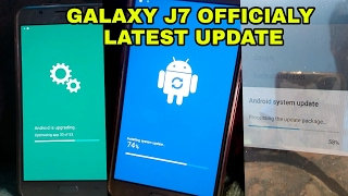 samsung galaxy j7 latest update    watch full process