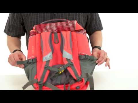 11c12f284f Jack Wolfskin Ramson Top 20 Liter Pack (Kids) SKU:8795483 - YouTube