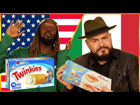 Americans & Italians Swap Snacks