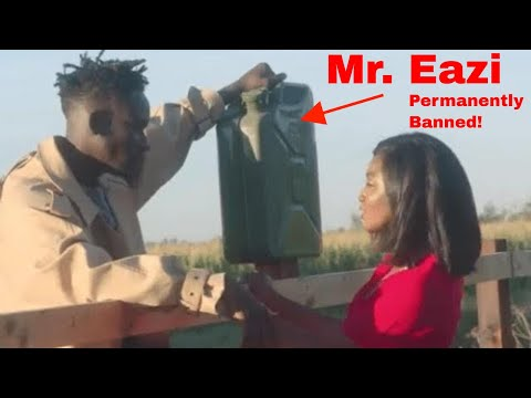 MR EAZI DISGRACED AND BANNED FROM PERFORMING IN THIS CLUB…