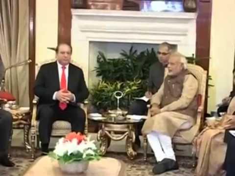 PM Narendra Modi meets Nawaz Sharif, Prime Minister of Pakistan