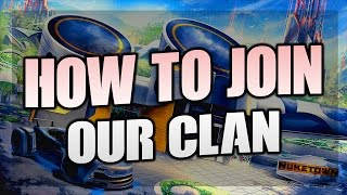 How To Join Our Clan 🔥 Rocket League, Call Of Duty, CSGO, Overwatch 🔥TwZz