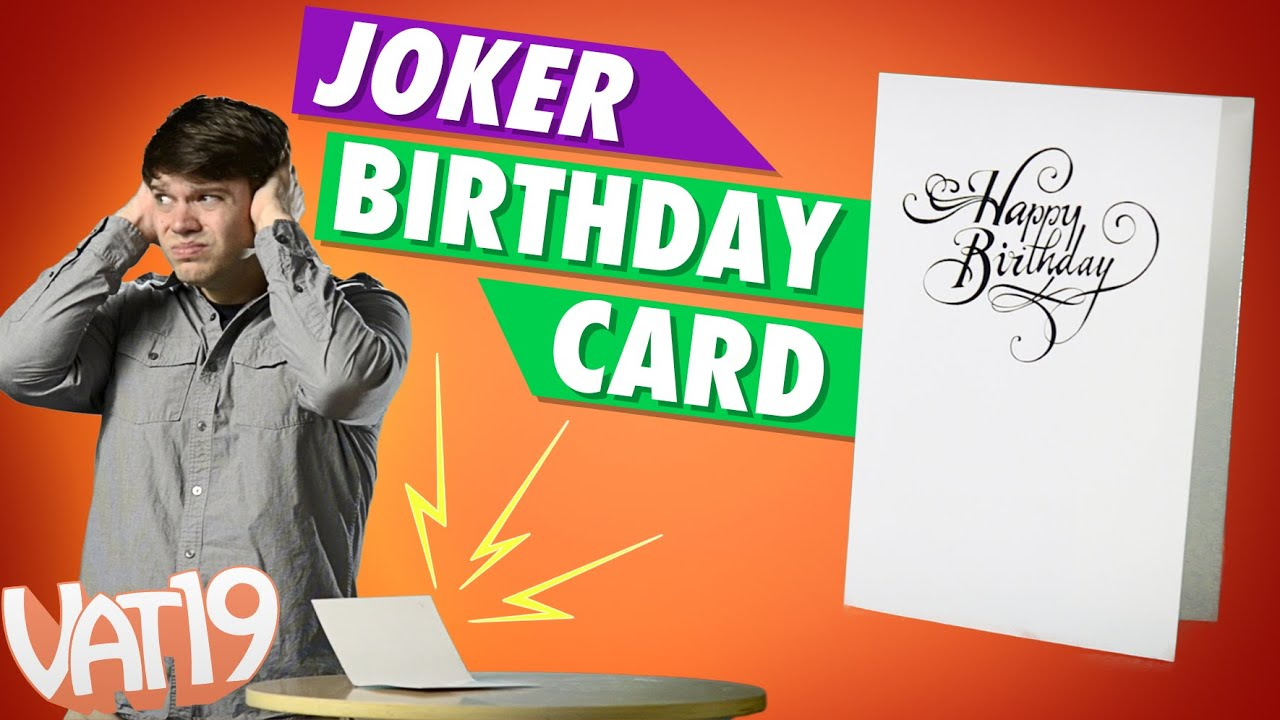 Ultimate birthday prank card youtube ultimate birthday prank card bookmarktalkfo Gallery