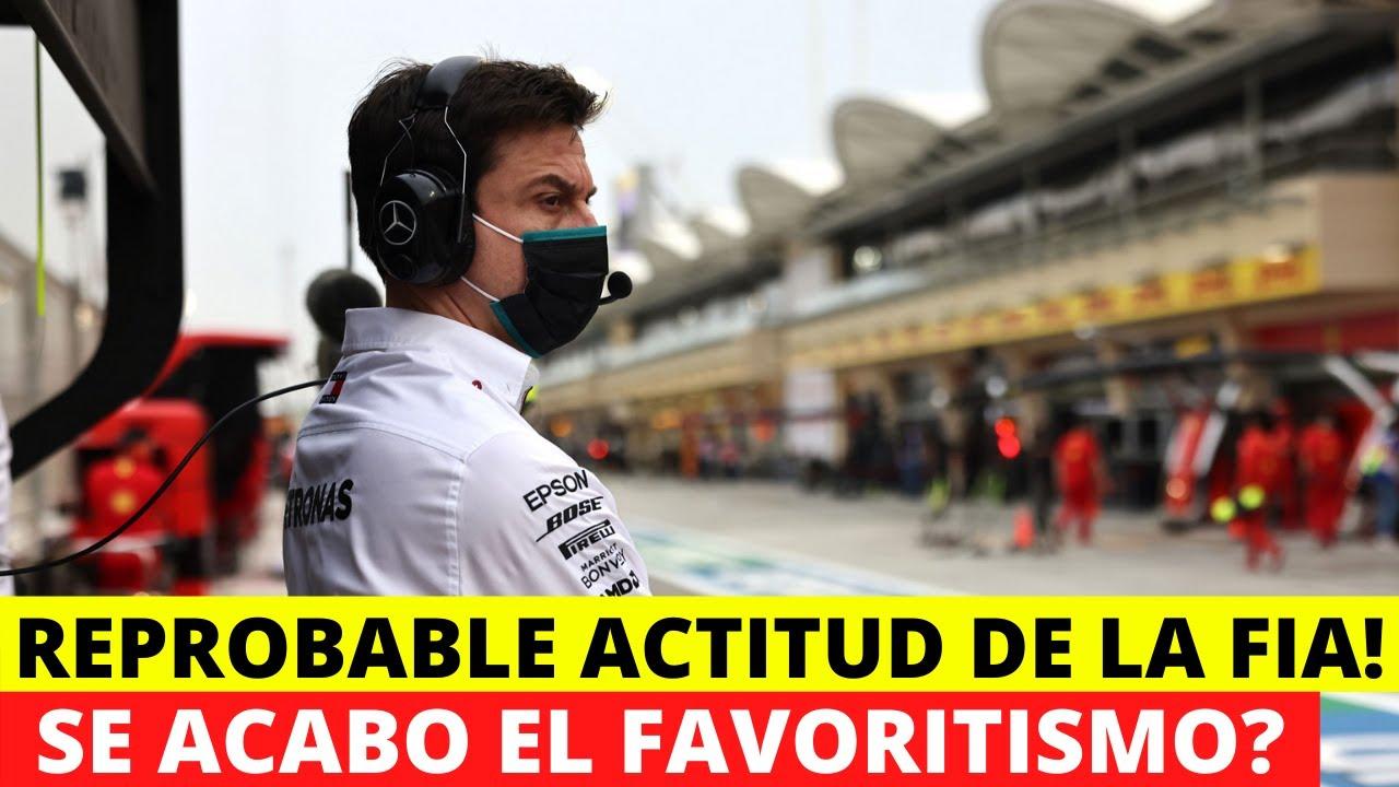 "ULTIMA HORA! Formula 1 ADVIERTE a la FIA sobre su ""TOLERANCIA"" con Mercedes. | Darius Motors"