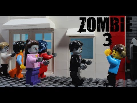 LEGO ZOMBIE EPISODE 3 LET'S GO HOME Stop Motion Animation