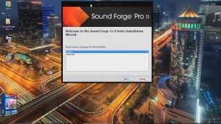 Como Descargar e Instalar El Sound Forge Pro 11