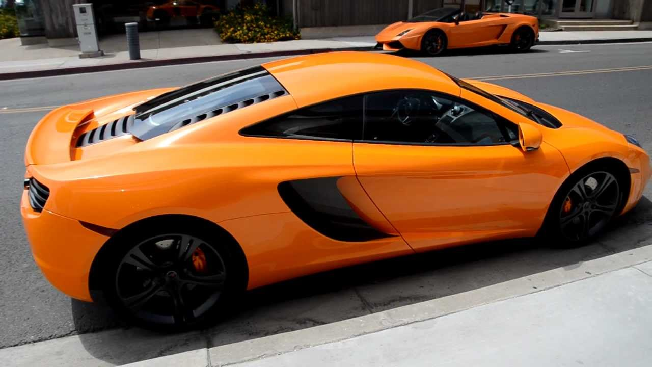 Mclaren Orange Mclaren Mp4 12c Mclaren Newport Beach