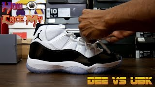Real Talk & How I lace My Concord Air Jordan 11s