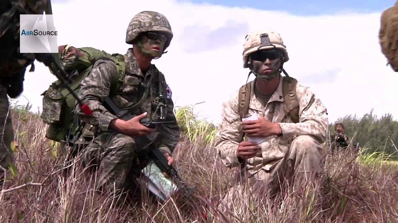 South Korea Marines, U.S. Marines in Amphibious Assault ...