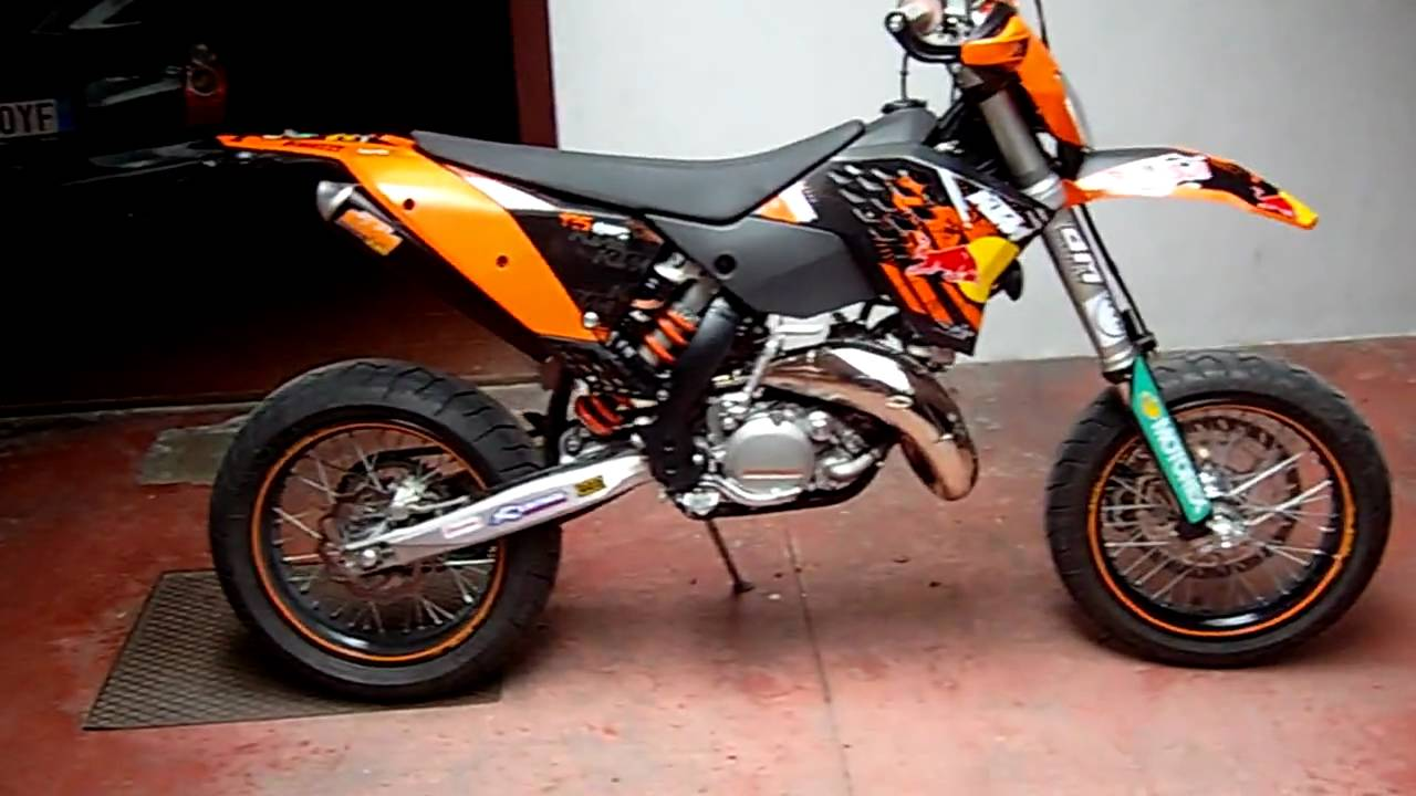 ktm 125 supermotard 2009 with fmf youtube. Black Bedroom Furniture Sets. Home Design Ideas