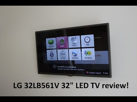 LG 32LB561V 32″ LED TV review-  PCWorld Exclusive