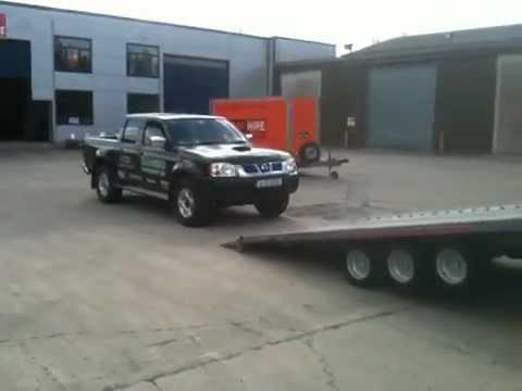 5 Car Hauler Trailers For Sale >> Triple axle Indespension car transporter trailers for sale - YouTube