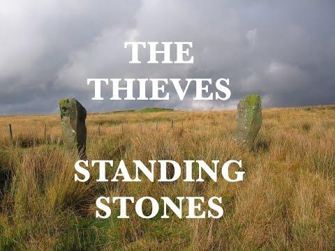 The Thieves Standing Stones, Newton Stewart, Dumfries & Galloway, Scotland.