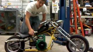 custom mini chopper 5hp briggs