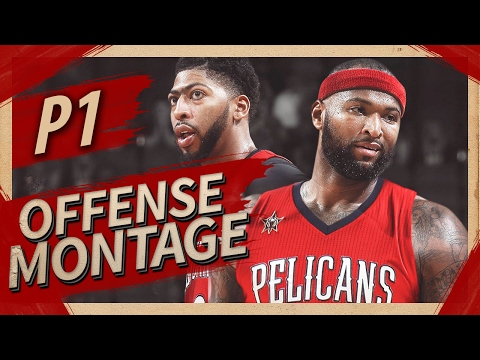 DeMarcus Cousins Offense & Defense Highlights Montage 2016/2017 (Part 1) - Welcome To Pelicans!