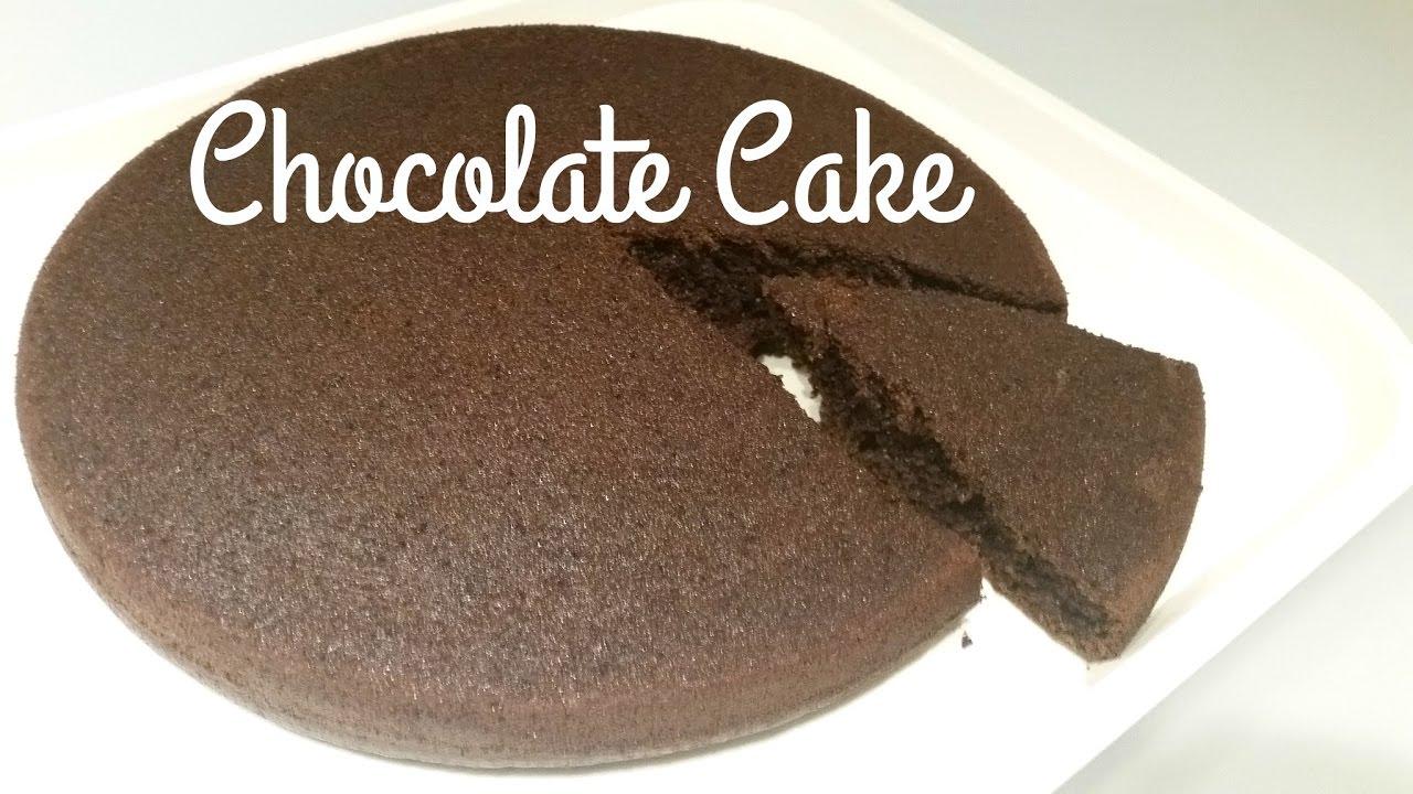 Chocolate Cake How To Make Simple Chocolate Cake Simple Chocolate