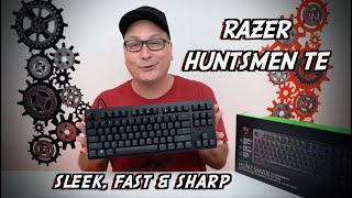 Razer Huntsman TE Review, IT'S FAST!!