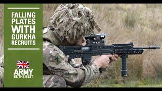 Falling Plate Competition | Gurkha Training Company | British Army