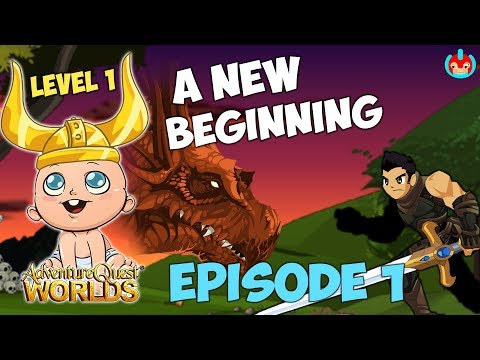 ~AQW~ NEW BEGINNING EPISODE 1 || NEW PLAYERS MUST WATCH || INDEPT GUIDE