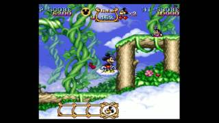 Gambar cover Magical Quest Starring Mickey Mouse - Stage 1: Treetops [Remastered]
