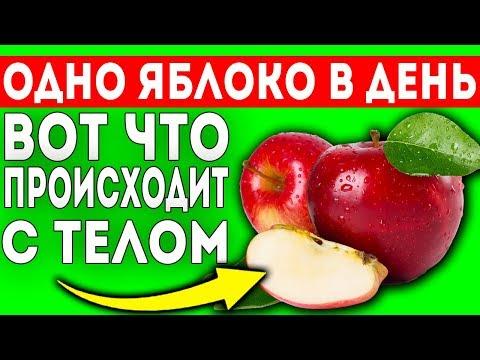 ОТКРОЙТЕ ДЛЯ СЕБЯ! Начните съедать по яблоку в день и увидите, что будет с вашим телом