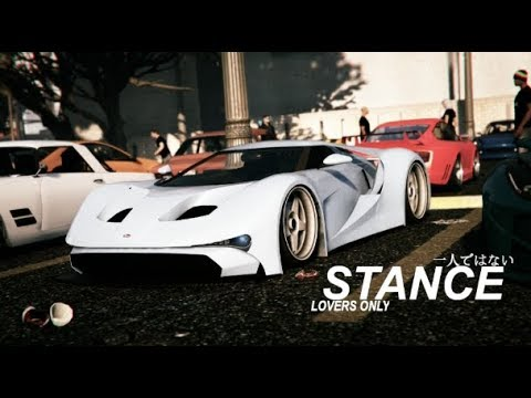 GTA V Stance Nation | Stance Car Meet | Stance Lovers Only | PS4 Rockstar Editor #5