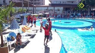 Summer Song Animation Team Pool Dancing   Lonicera Resort   Turkey (2018)