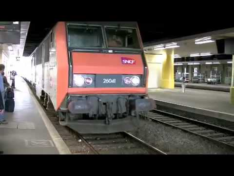 corail teoz train arriving at limoges benedictins youtube. Black Bedroom Furniture Sets. Home Design Ideas