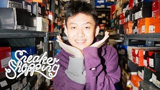 Rich Brian, formerly known as Rich Chigga, goes Sneaker Shopping wi...