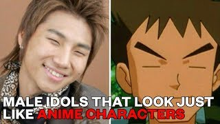 Male Idols that Look Just Like Anime Characters