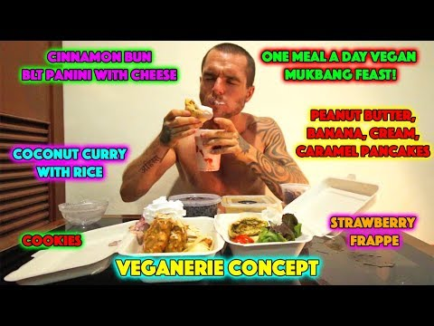 Veganerie Concept - One Meal A Day Vegan MUKBANG FEAST!