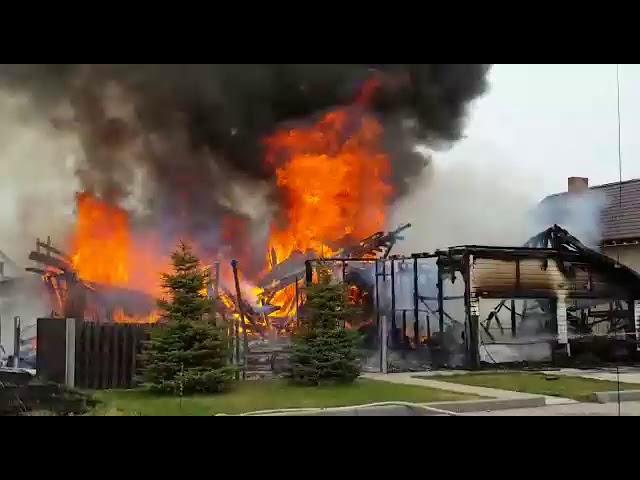 В селе Ягодное сгорел дом