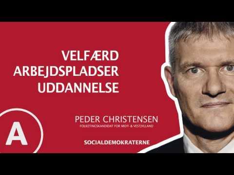 Peder Christensen - Folketingskandidat for Midt- og Vestjylland