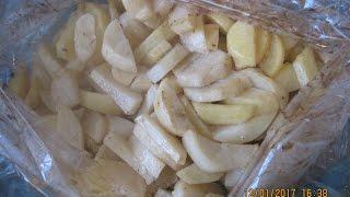 Запекаем в духовке картошку в рукаве ПРОСТО ВКУСНАТИЩА